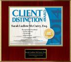 client distinction business estate lawyer Sarah