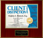 client distinction criminal lawyer Steve